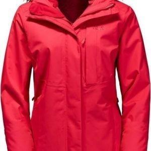 Jack Wolfskin Arctic Ocean Punainen XL