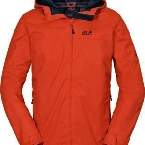 Jack Wolfskin Arroyo Jacket Men Punainen XL
