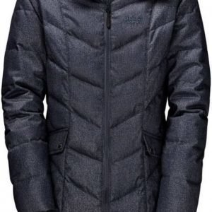 Jack Wolfskin Baffin Bay Coat Tummansininen L