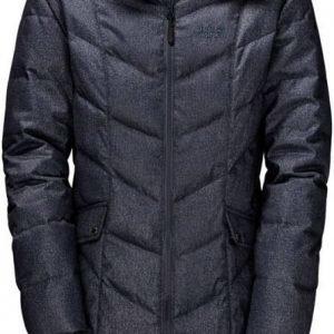 Jack Wolfskin Baffin Bay Coat Tummansininen XS