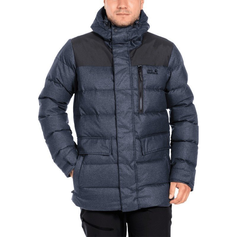Jack Wolfskin Baffin Bay Jacket Men L Night Blue
