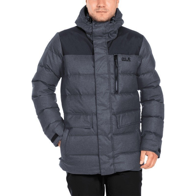 Jack Wolfskin Baffin Bay Jacket Men M Black