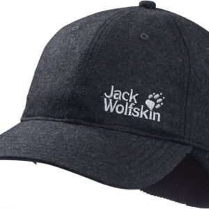 Jack Wolfskin Base Ear Cap Dark Grey M
