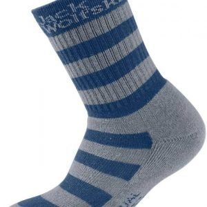 Jack Wolfskin Box Socks 2X Kids Tummansininen 34-36