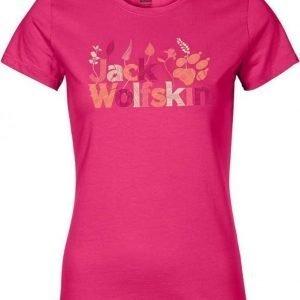 Jack Wolfskin Brand T Pink XL
