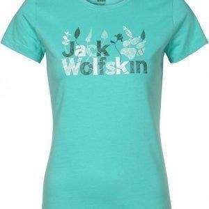 Jack Wolfskin Brand T Sininen M