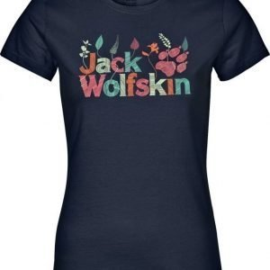 Jack Wolfskin Brand T Tummansininen XL