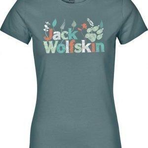 Jack Wolfskin Brand T Turkoosi XS