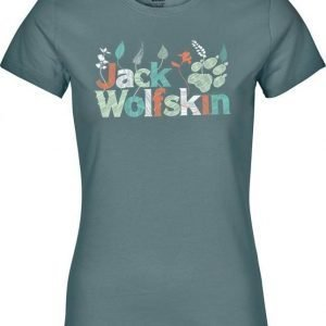 Jack Wolfskin Brand T Turkoosi XXL