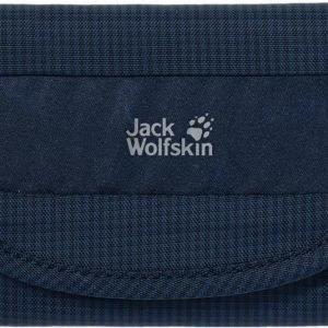 Jack Wolfskin Cashbag Wallet Rfid Tummansininen