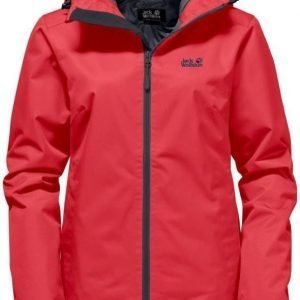 Jack Wolfskin Chilly Morning Punainen M