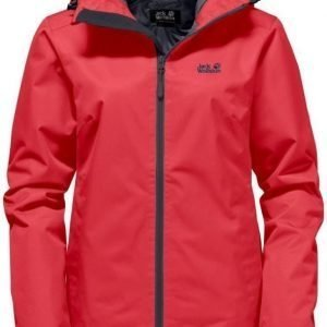 Jack Wolfskin Chilly Morning Punainen XL