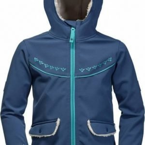 Jack Wolfskin Cold Breeze Jacket Girls Tummansininen 128