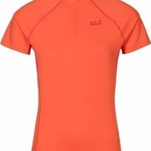 Jack Wolfskin Dynamic Hollow Half Zip Oranssi XL