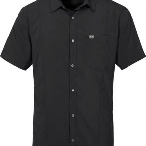 Jack Wolfskin Egmont Shirt M Musta L