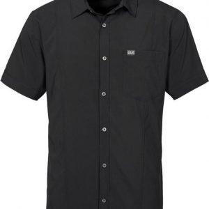 Jack Wolfskin Egmont Shirt M Musta M