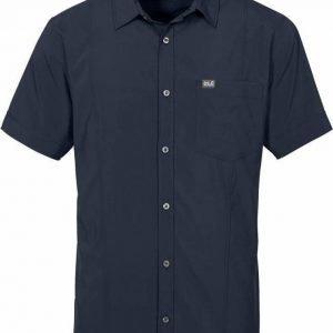 Jack Wolfskin Egmont Shirt M Tummansininen S