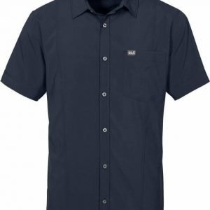 Jack Wolfskin Egmont Shirt M Tummansininen XL