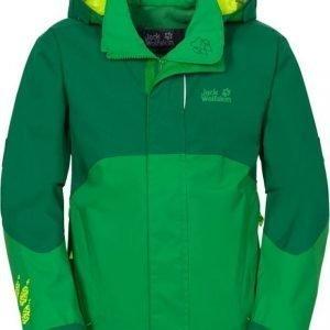 Jack Wolfskin Emerald 3 Jkt B Vihreä 140