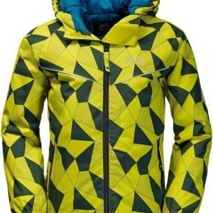 Jack Wolfskin Floating Ice Jacket Kids Lime 164