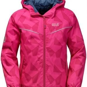 Jack Wolfskin Floating Ice Jacket Kids Pink 128