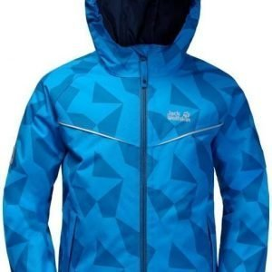 Jack Wolfskin Floating Ice Jacket Kids Sininen 164