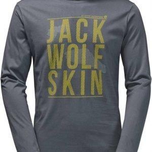 Jack Wolfskin Floating Ice Longsleeve Dark grey XL