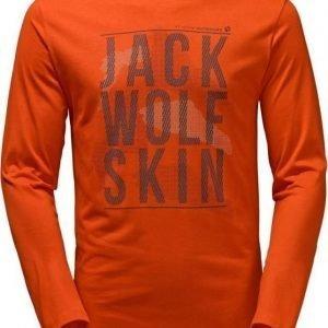 Jack Wolfskin Floating Ice Longsleeve Oranssi XXL