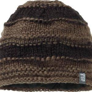 Jack Wolfskin Fluffy Yarn Cap Musta