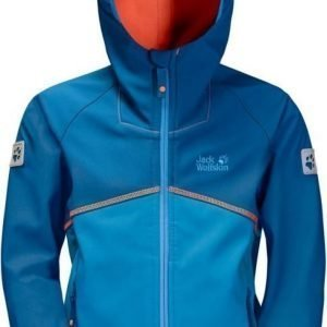 Jack Wolfskin Frosty Wind Jacket Boys Sininen 164