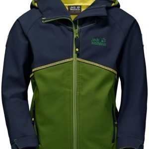 Jack Wolfskin Frosty Wind Jacket Boys Vihreä 104