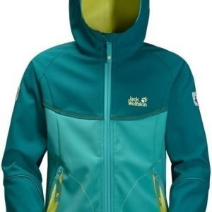 Jack Wolfskin Frosty Wind Jacket Girls Turkoosi 164