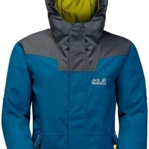 Jack Wolfskin Glacier Bay Jacket Boys Sininen 164