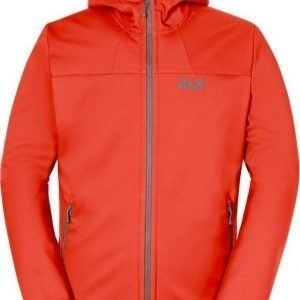 Jack Wolfskin Grand Valley Softshell Jkt M Coral XXL