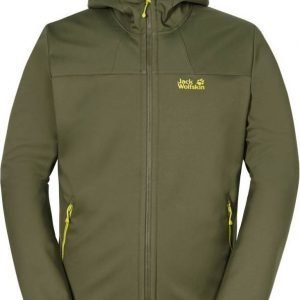 Jack Wolfskin Grand Valley Softshell Jkt M Oliivi L