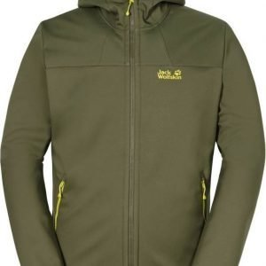 Jack Wolfskin Grand Valley Softshell Jkt M Oliivi XXXL