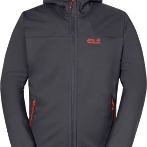 Jack Wolfskin Grand Valley Softshell Jkt M Ruskea M