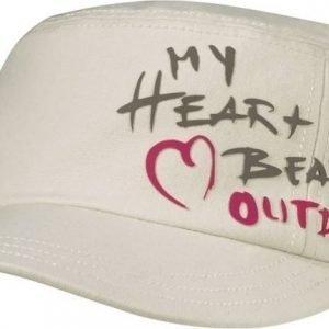 Jack Wolfskin Heartbeat Cap Luonnonvalkoinen M