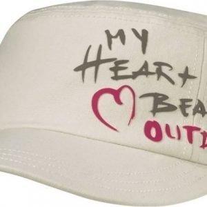 Jack Wolfskin Heartbeat Cap Luonnonvalkoinen S