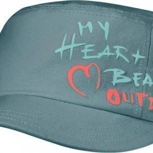 Jack Wolfskin Heartbeat Cap Turkoosi S