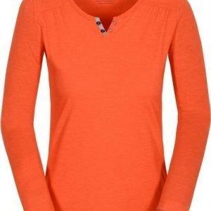 Jack Wolfskin Heather Longsleeve Oranssi XL