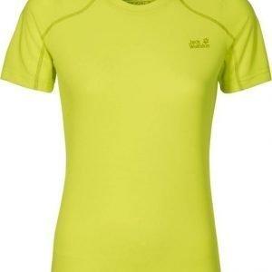 Jack Wolfskin Helium Chill T-Shirt Keltainen L
