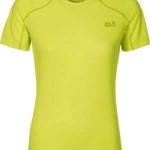 Jack Wolfskin Helium Chill T-Shirt Keltainen XL