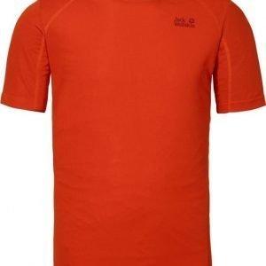 Jack Wolfskin Helium Chill T-Shirt M Punainen XL