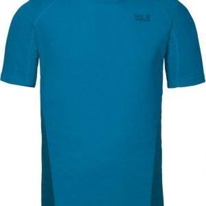 Jack Wolfskin Helium Chill T-Shirt M Turkoosi L