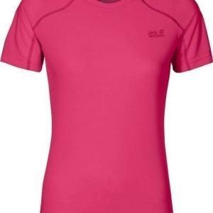 Jack Wolfskin Helium Chill T-Shirt Pink XS