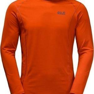 Jack Wolfskin Hollow Range Longsleeve Oranssi XL
