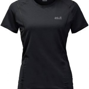Jack Wolfskin Hollow Range T-Shirt Musta S