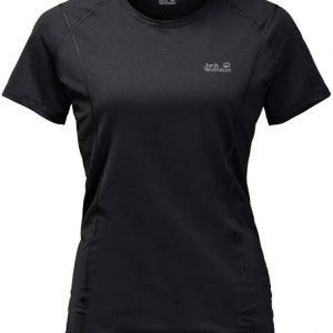 Jack Wolfskin Hollow Range T-Shirt Musta XL