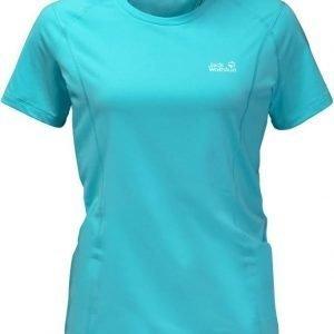 Jack Wolfskin Hollow Range T-Shirt Vaaleansininen XL